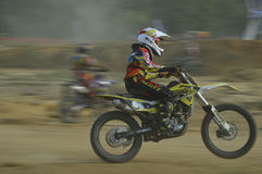Motocross. Super grasstrack motor Stock Photography