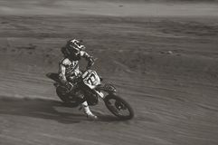 Motocross super grasstrack. Grasstrack motor extrem sport Royalty Free Stock Photos