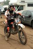 motocross super turniej Ukraine Obrazy Stock