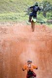 Motocross-Tätigkeit Lizenzfreie Stockbilder