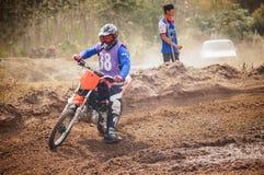 Motocross in Thailand Lizenzfreies Stockbild