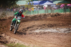 Motocross in Thailand Stockbild