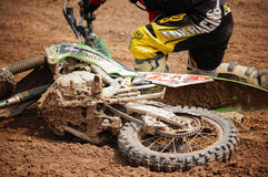 Motocross in Thailand stock images