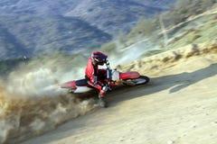 Motocross-uiterste. Stock Fotografie