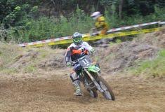 Motocross in Valdesoto, Asturie, Spagna Immagini Stock Libere da Diritti