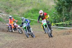 Motocross in Valdesoto, Spain. Stock Photography