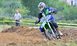 Motocross in Valdesoto, Spain. Stock Images