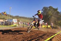 Motocross w Sariego, Hiszpania Fotografia Royalty Free