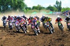Motocross światu mistrzostwo Fotografia Royalty Free