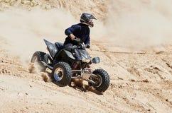 Motocross świetlicowy trening Obraz Royalty Free