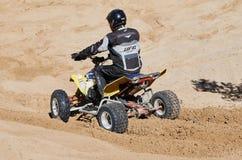 Motocross świetlicowy trening Fotografia Stock