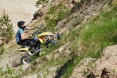 Motocross świetlicowy trening Obrazy Stock
