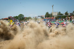 Motocross World Championship MX3 and WMX, Slovakia Stock Photos