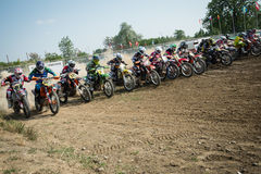 Motocross World Championship MX3 and WMX, Slovakia Royalty Free Stock Images