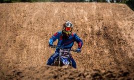 Motocross wydarzenia bieżny lont 2015 Zdjęcia Royalty Free