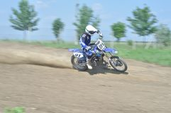 Motocross wyzwanie Obraz Stock