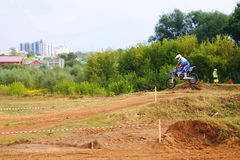 Motocross zu Ehren der Stadt, die Stadt von Tscheboksary Stockfoto