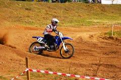 Motocross zu Ehren der Stadt, die Stadt von Tscheboksary Lizenzfreie Stockbilder