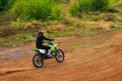 Motocross zu Ehren der Stadt, die Stadt von Tscheboksary Stockbilder