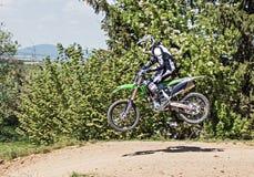 Motocrossaktion Lizenzfreies Stockbild