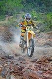 Motocrossausdauer stockfotos