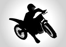 Motocrosser Royalty Free Stock Photography