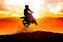 Motocrosser Stock Photo