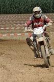 Motocrossfahrer Stockbilder