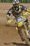 Motocrossfahrer Lizenzfreie Stockbilder