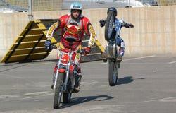 Motocrossfreistil lizenzfreie stockfotos
