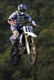 Motocrosskonkurrens Catalan motocrossloppliga Arkivbilder