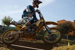 Motocrosskonkurrens Catalan motocrossloppliga Royaltyfria Bilder