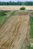 Motocrosskring Royalty-vrije Stock Foto's