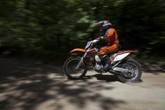 Motocrosslopp Royaltyfria Foton