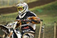 motocrosspetrov för 47 atanas Arkivfoto