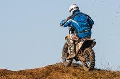 Motocrossracerbil Fotografering för Bildbyråer