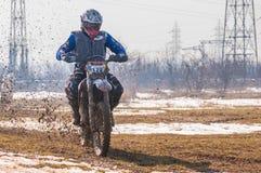 Motocrossracerbil Arkivbild