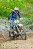 Motocrossracerbil arkivbilder