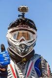 Motocrossras Royalty-vrije Stock Fotografie