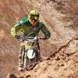 Motocrossreiter Lizenzfreie Stockfotografie
