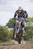 Motocrossreiter Stockfoto
