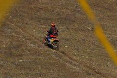 Motocrossrennläufer 5 stockfotografie