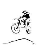 Motocrossruiter Stock Afbeeldingen