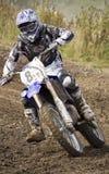 Motocrossryttare Royaltyfria Foton