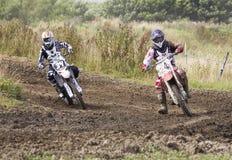 Motocrossryttare Royaltyfri Bild
