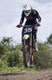 Motocrossryttare Arkivbilder