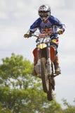 Motocrossryttare Fotografering för Bildbyråer