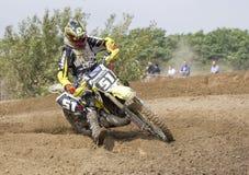 Motocrossryttare Arkivfoto