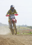 Motocrossryttare Arkivbild