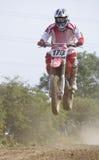 Motocrossryttare Arkivfoton